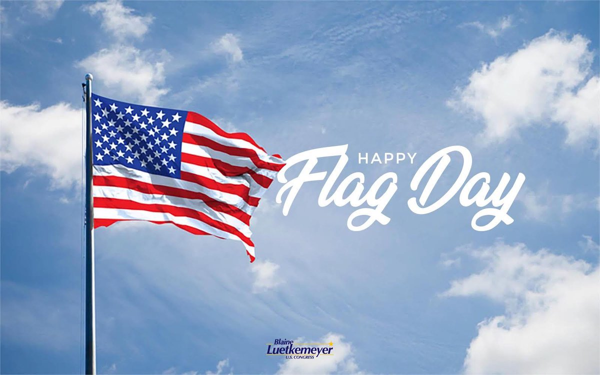 From sea to shining sea, to the Battle Iwo Jima, to the moon, Old Glory has been there representing our American values. Happy Flag Day! https://t.co/G969gsoAQv