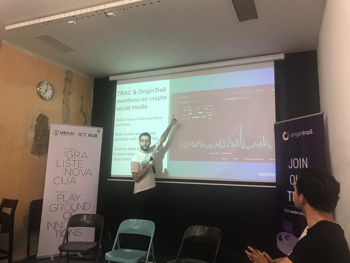 Was a pleasure to be part of the @origin_trail Belgrade meetup! Outstanding talks about the project's development, current and potential use cases and the roadmap for the future. Plus some top-grade craft beer :)   Thanks again for having us!