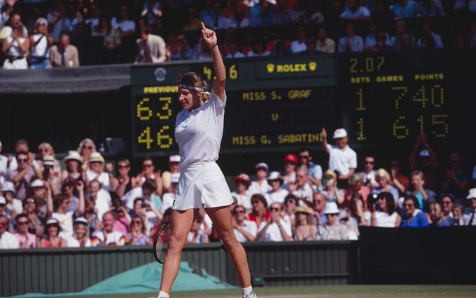 Happy birthday to the greatest of all time, Steffi Graf.