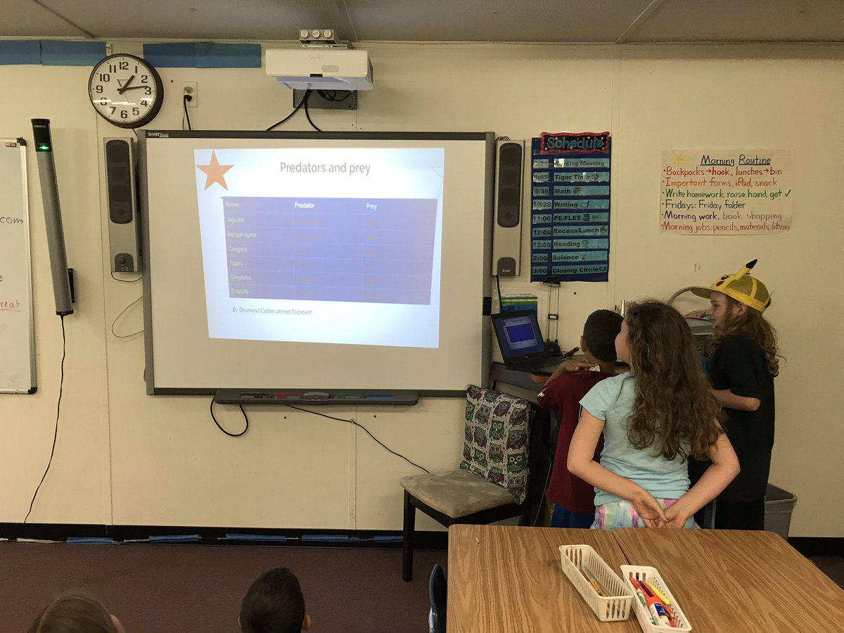Researchers present what they learned about different animals! <a target='_blank' href='http://search.twitter.com/search?q=KWBPride'><a target='_blank' href='https://twitter.com/hashtag/KWBPride?src=hash'>#KWBPride</a></a> <a target='_blank' href='http://search.twitter.com/search?q=AfterTheSOLs'><a target='_blank' href='https://twitter.com/hashtag/AfterTheSOLs?src=hash'>#AfterTheSOLs</a></a> <a target='_blank' href='https://t.co/nuFP9vHnz9'>https://t.co/nuFP9vHnz9</a>