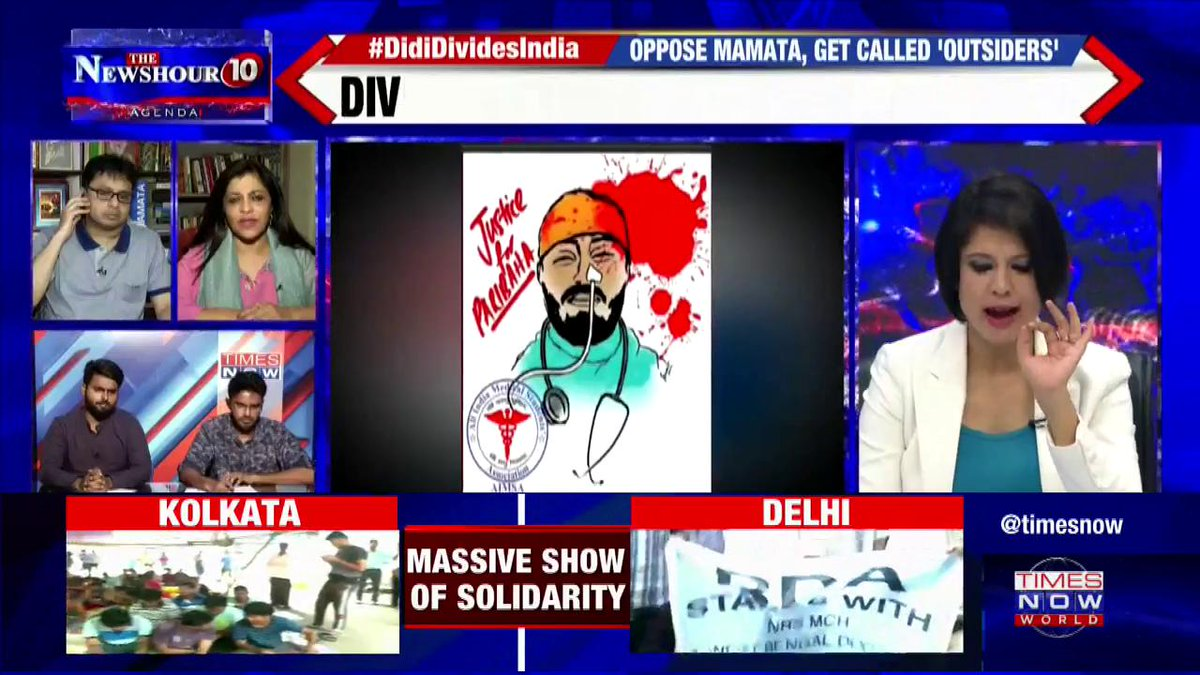 #DidiDividesIndia   Listen in to what a doctor and TMC supporter Dr. Abdul Khalique Ansari has to say to West Bengal CM Mamata Banerjee over this ugly politics overpowering real issues of the state.