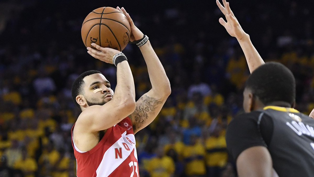 Players with 12+ points in 4th quarter of #NBAFinals series clincher since 2007 (via @StatsByStats): Manu Ginobili Ray Allen Tony Parker Stephen Curry #Raptors Fred VanVleet #WeTheNorth