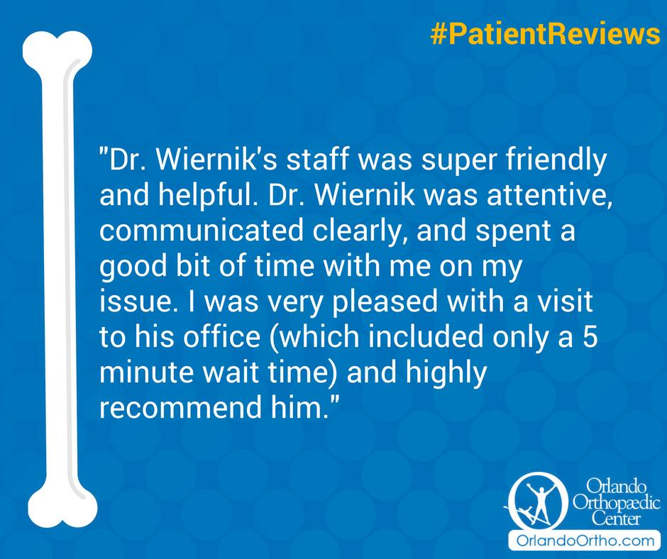 We're humbled by your review of our practice. Thank you for sharing! #PatientReviews
