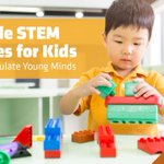 Image for the Tweet beginning: Easy and inexpensive #STEM projects