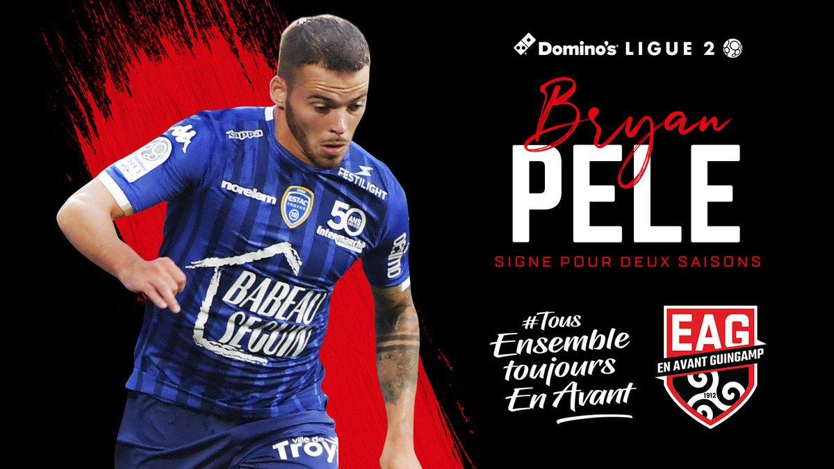 Troyes : Bryan Pelé s'en va à Guingamp (Officiel)