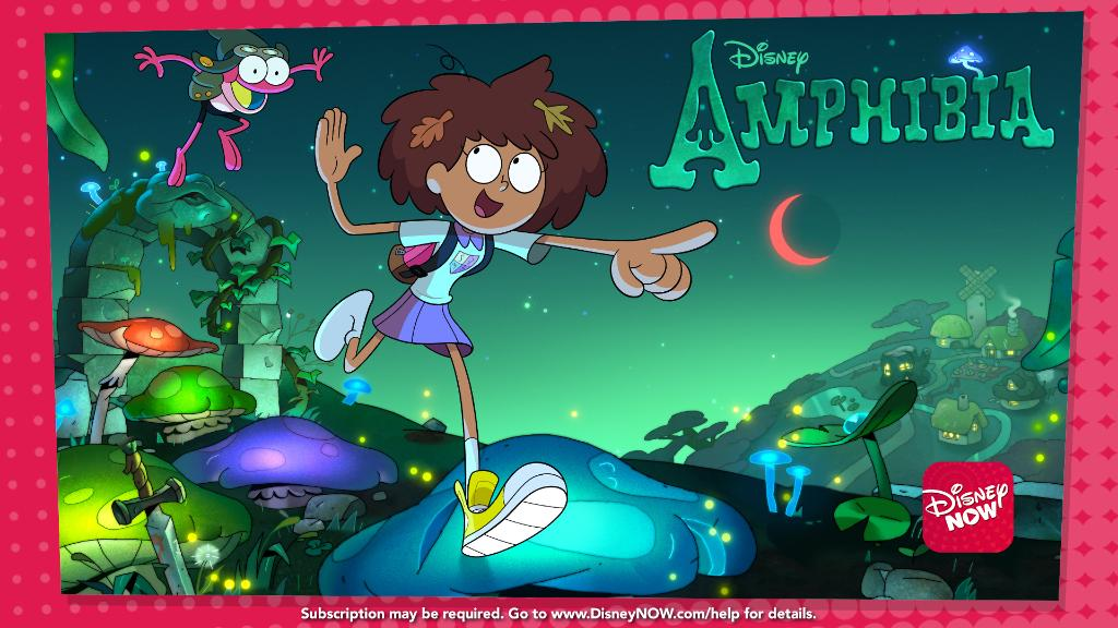 Hoppy Friday! If you want to stream our new show, #Amphibia, before it premieres Monday on @DisneyChannel, hop on over to #DisneyNOW. Were excited to know what you think of it!