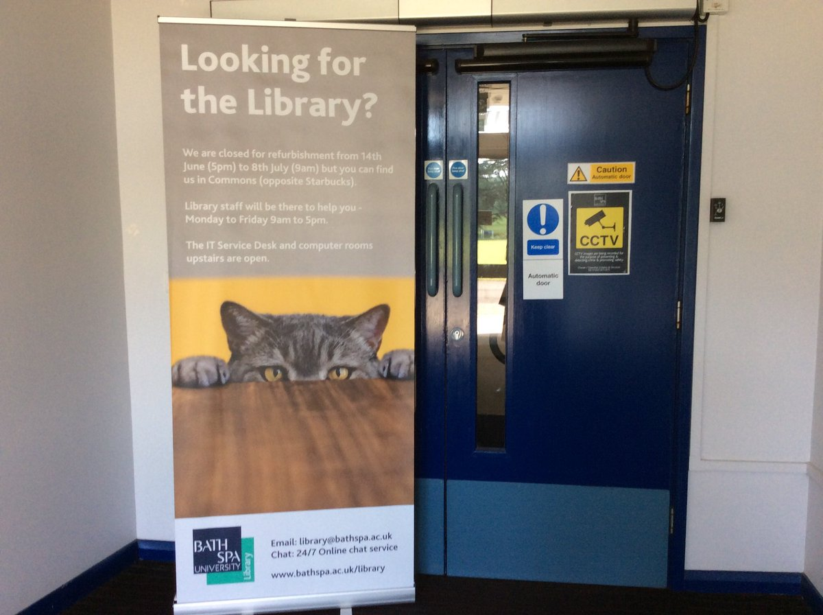 Bath Spa Library (@bathspalib) | Twitter