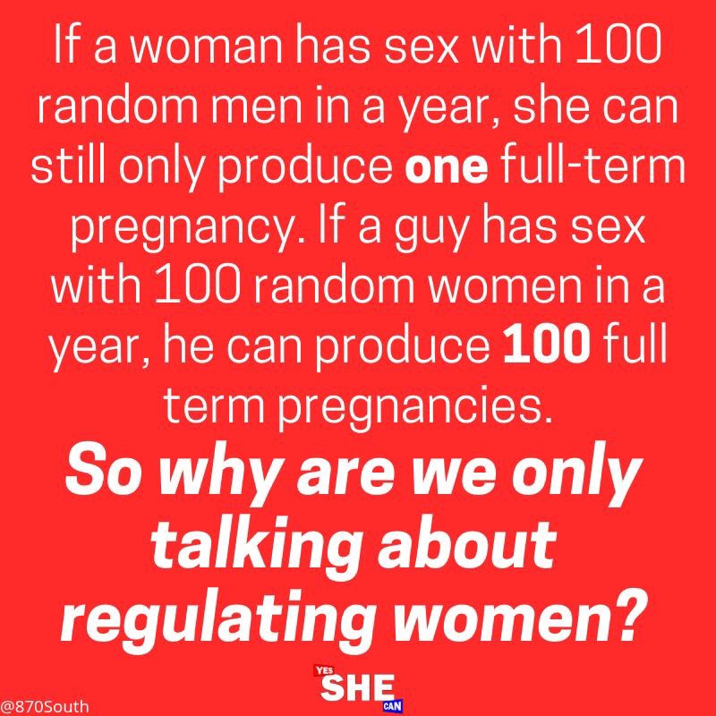 Take a moment to think about this...I'll wait  #WomensRightsAreHumanRights  #womensreproductiverights #womenshealth #WomenSupportingWomen<br>http://pic.twitter.com/XUJtE7DliB