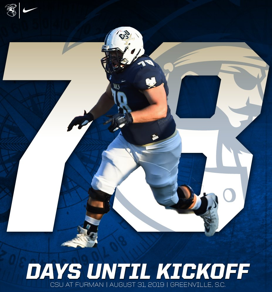 #78Days until @Zack_Evans78 and the @CSUFB offensive line are looking for that next person to #pancake  #JoinTheSiege #BucVi2i0n20 #CountdownToKickoff