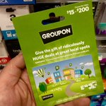 Image for the Tweet beginning: CardLinx members, #GasBuddy and #Groupon