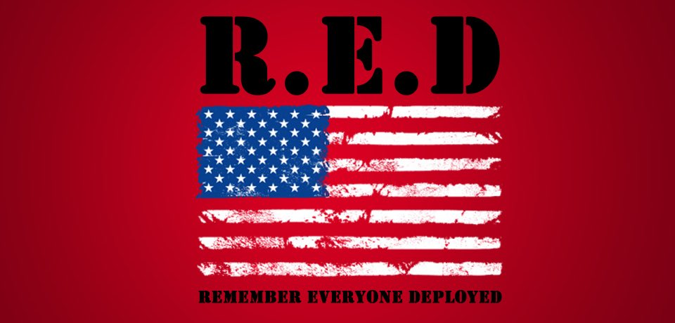 Remember Everyone Deployed  REMEMBER each and every one until they are home. NEVER forget the heroes, our Veterans. May we ALWAYS honor the fallen, who made the ultimate sacrifice for our freedom. #RedFriday  #Veterans<br>http://pic.twitter.com/GOcND1ruzy