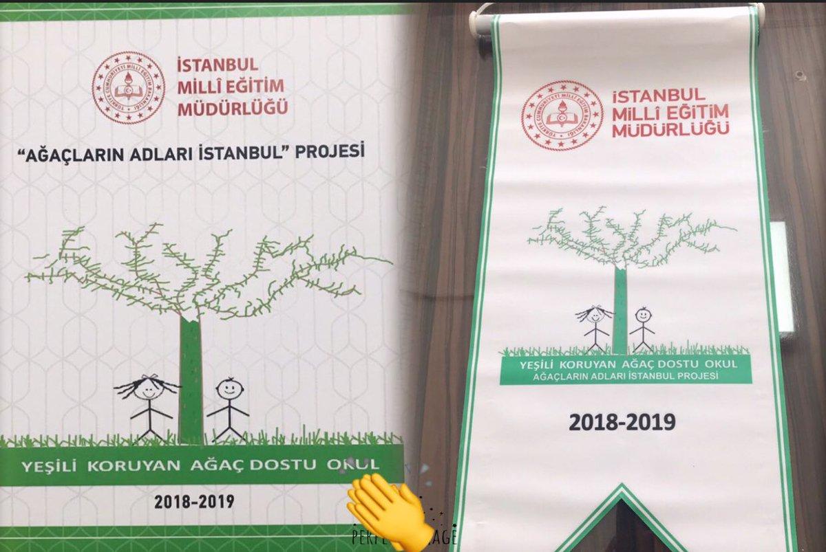 Ağaçların adları İstanbul projemiz dahilinde yeşili koruyan ağaç dostu okul sertifikamız ve bayrağımız.@memleventyazici @mustafauslu64 @Silivri_AhmetAY @haziranserife @izekier53 @agaclarinadlari @istmemkultur
