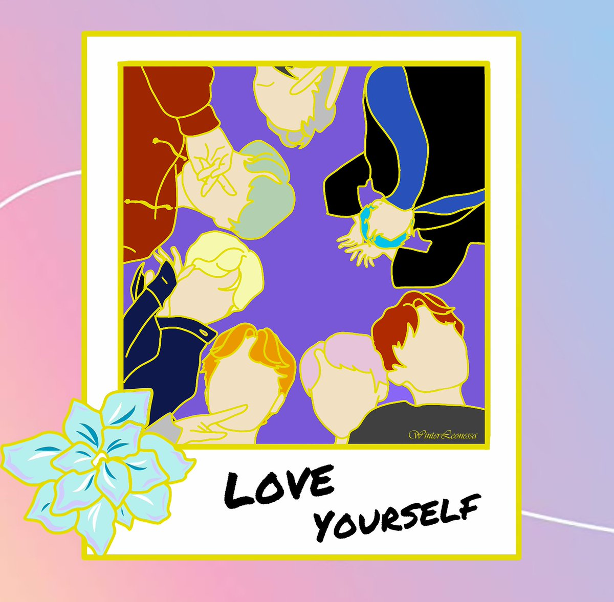 7 of Us 💜 (Wity my favourite hair colours) Dont Repost⚠️ Interest check : 1st pic to become an enamel pin? #6YearsWithBTSOurHome #BTS #btsfanart #btsenamelpins #JIMIN #BTSFESTA2019 #JUNGKOOK #JIN #RM #SUGA #JHOPE #Taehyung #방탄소년단 #LoveYourSelf