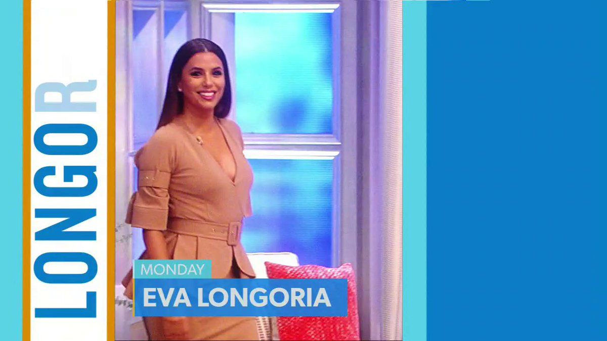 NEXT WEEK! See @EvaLongoria, @Roselyn_Sanchez, @WillieNelson, @daxshepard, @howiemandel, @NikWallenda, @ayeshacurry and #HotTopics!  Have a great weekend, America!