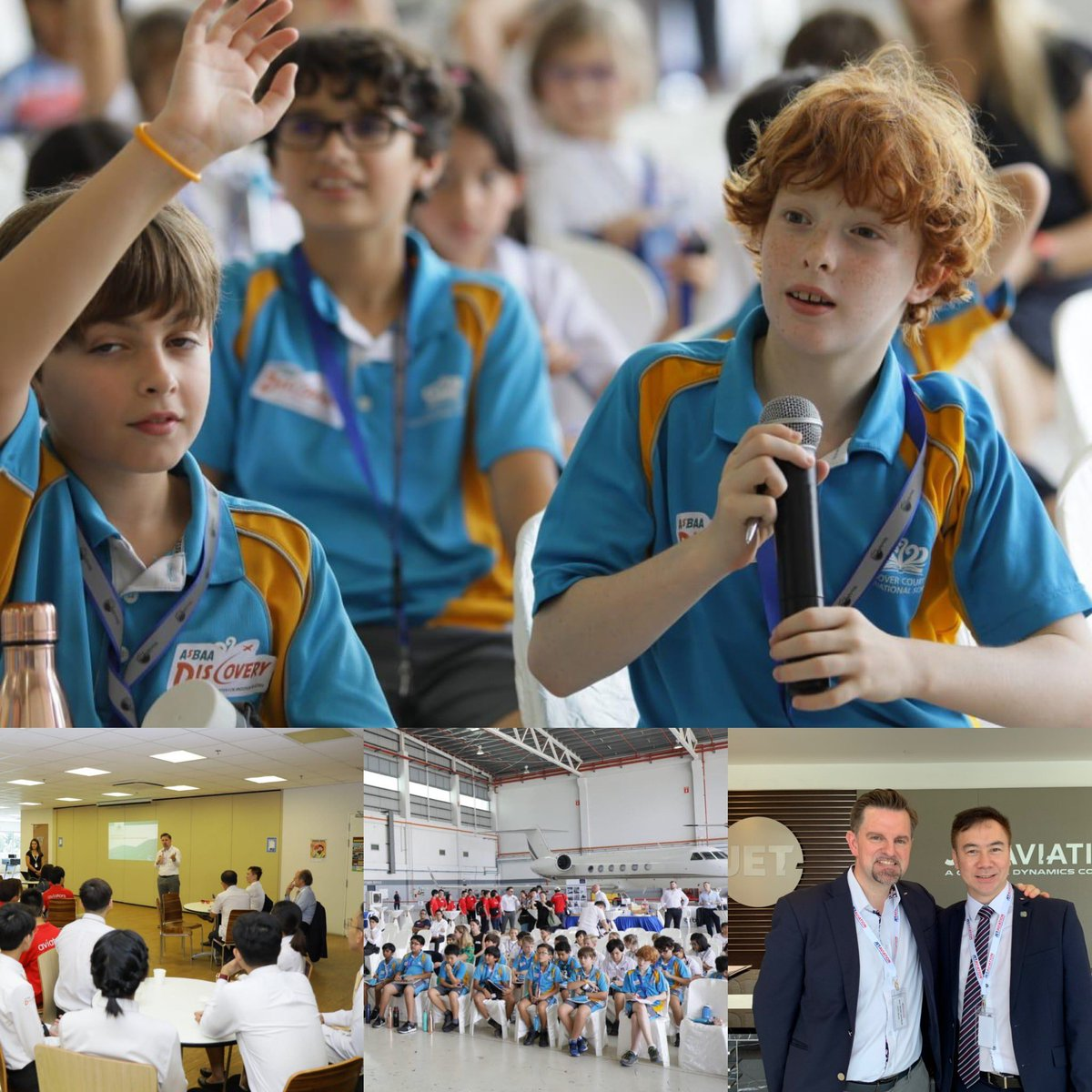 #AsBAATookOff yesterday at its inaugural event at #seletarairport hosted by @jetaviation I enjoyed sharing some of my own career experiences and providing tips. Lots of great Q's from the students and the school kids. #education #BizAvWorks @NBAA @CorpJetInvestor @SingaporeCAAS https://t.co/vVjHVzIuzM