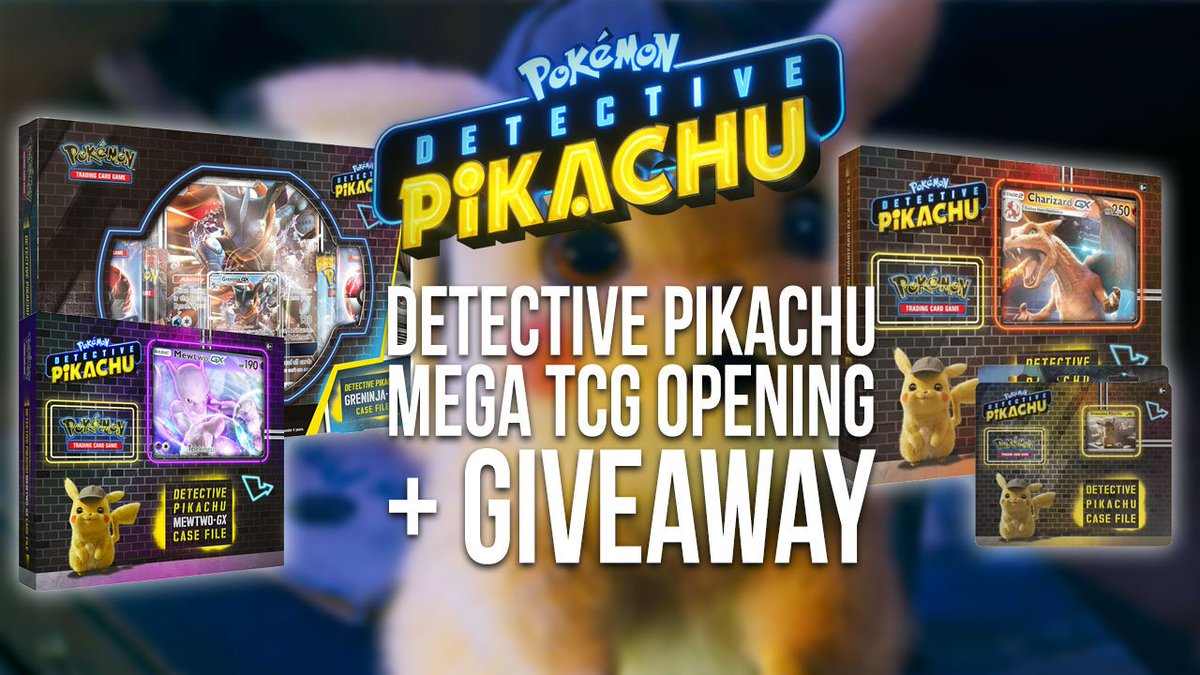 I opened 3 Detective Pikachu TCG Case Files—check out the AMAZING giant cards and all my pulls! Oh, one more thing: WERE GIVING AWAY A CHARIZARD-GX CASE FILE! Get your entry in asap: pokejungle.net/2019/06/14/det…