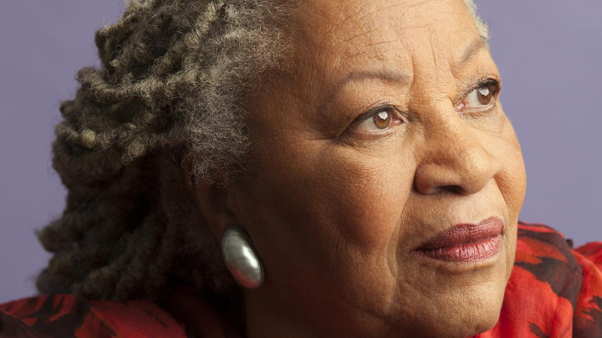 I don't wait to be struck by lightning and don't need certain slants of light in order to write. TONI MORRISON #amwriting #writing