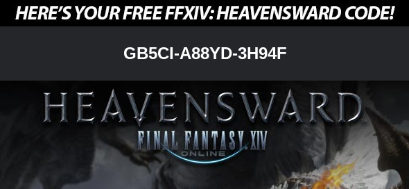 Here's a little treat to start the weekend! Code for FFXIV Heavensward. #TGIF 🎮🤓
