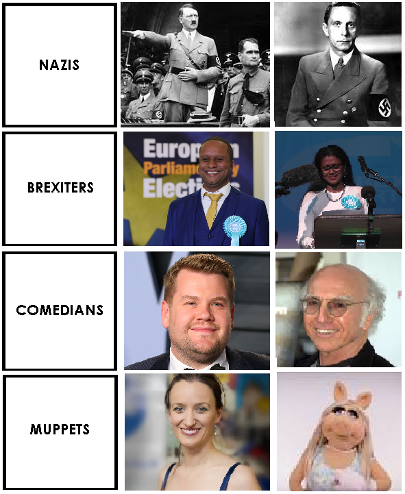 This helpful guide may assist you to identify the difference between Nazis and Brexit Party MEPs.   Keep it with you at all times. <br>http://pic.twitter.com/YIA3tmhC4B
