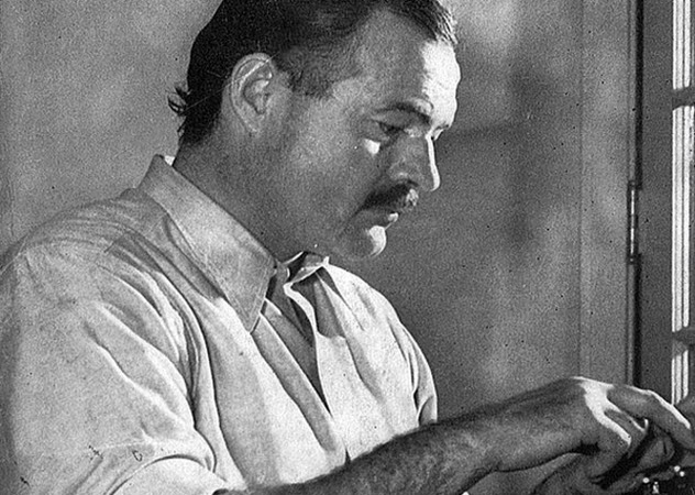 Write hard and clear about what hurts.  ERNEST HEMINGWAY  #amwriting #fiction<br>http://pic.twitter.com/0EY57et64y