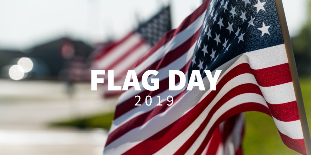 For 242 years the stars and stripes of freedom have waved over the United States of America symbolizing everything our country stands for. Happy #FlagDay!