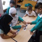 Image for the Tweet beginning: Y1 worked together to discuss
