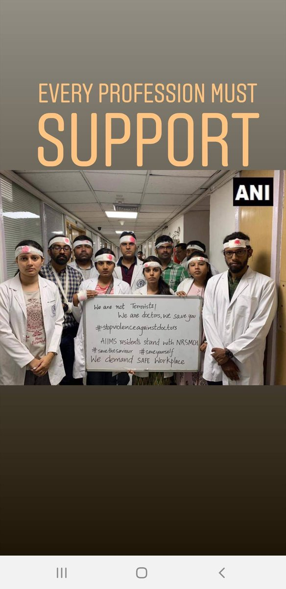 INJUSTICE ANYWHERE IS A THREAT TO THE JUSTICE EVERYWHERE - Martin Luther King Jr.  Each and every part of the community must stand with each other at times of crisis. #DoctorsFightBack  #doctors_against_assualt<br>http://pic.twitter.com/nrZlJHFlWu
