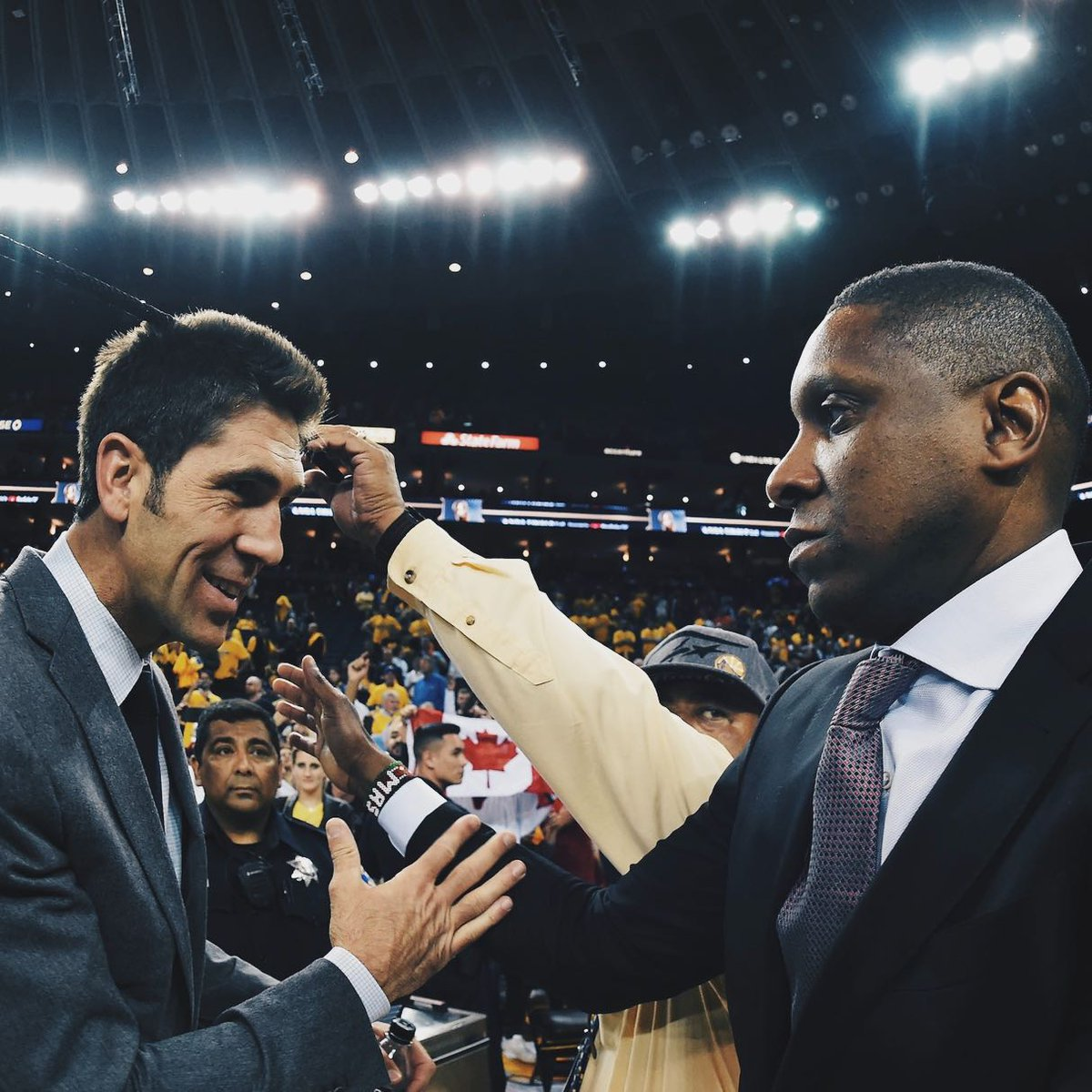 Same risks. Different team.  🧠 Masai Ujiri  Fires Dwane Casey Hires Nick Nurse Signs undrafted VanVleet Kawhi for DeMar  Marc Gasol at deadline  🧠 Bob Myers  Fires Mark Jackson Hires Steve Kerr Drafts Draymond No. 35 overall Doesn't trade Klay for Love Convinces KD to sign