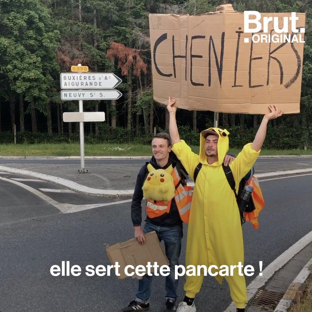 Un concours dauto-stop. 2500 participants et autant de pouces levés. Un objectif : arriver dans la Creuse. 👍