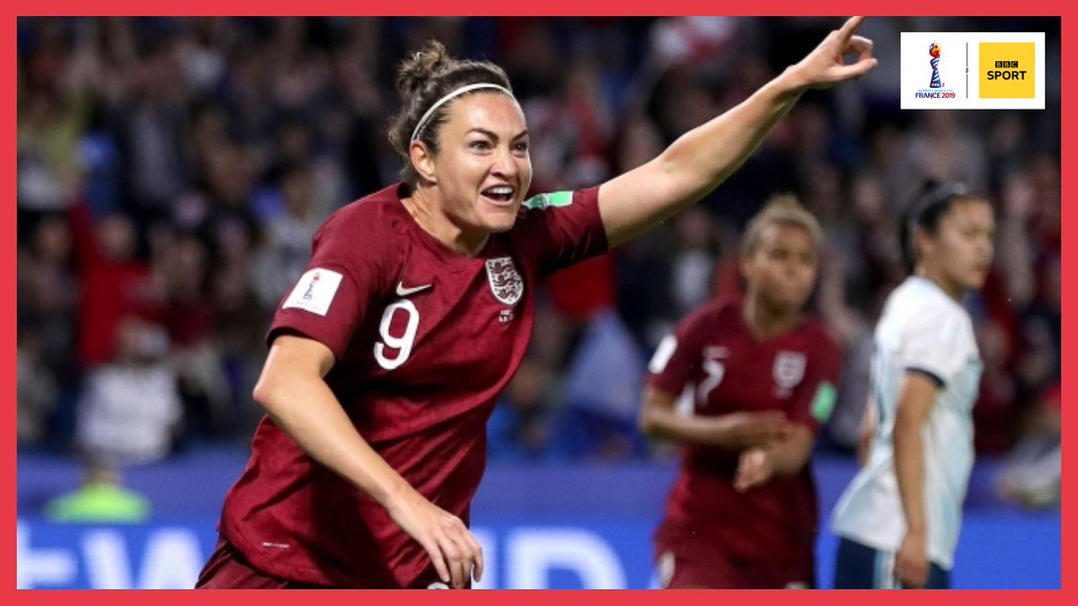 England are THROUGH to the #FIFAWWC knock out stages! 👍👍 England 1 - 0 Argentina An AMAZING goal from Jodie Taylor puts the #Lionesses through. 🔥 Well done #ENG!
