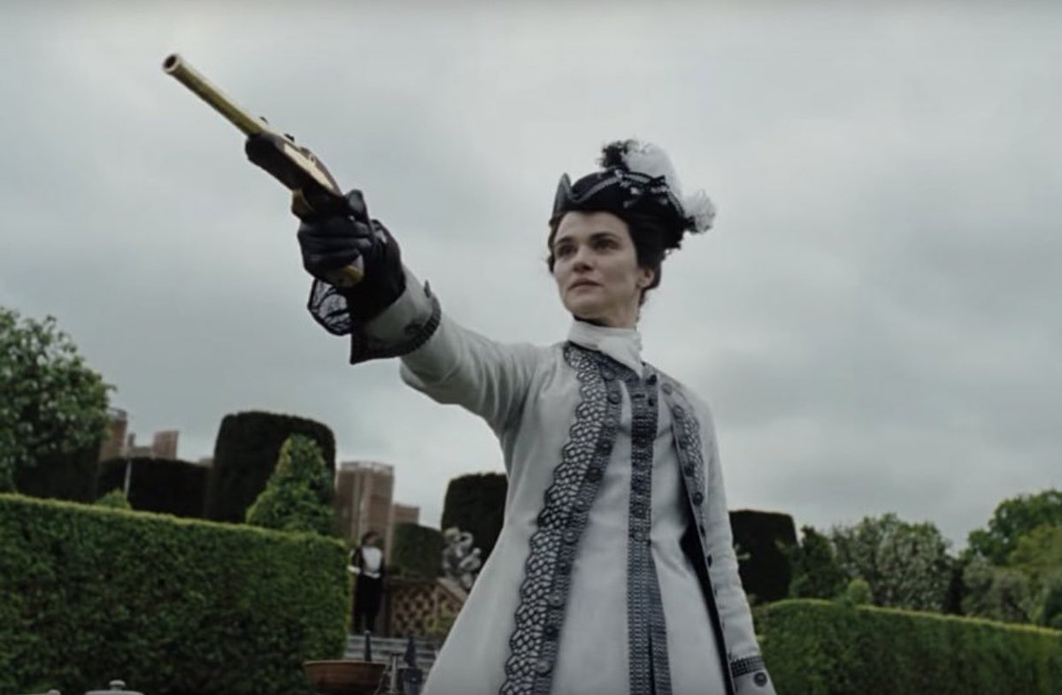 rachel weisz as sarah churchill to bless your life <br>http://pic.twitter.com/myyHg54tXY