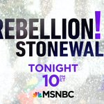 Image for the Tweet beginning: Tune in to 'Rebellion! Stonewall'