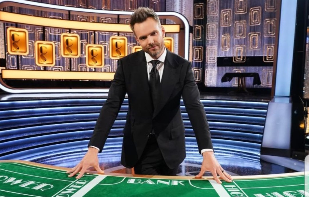 """To me, Joel McHale's face says """"Yep. I'm doing this."""""""