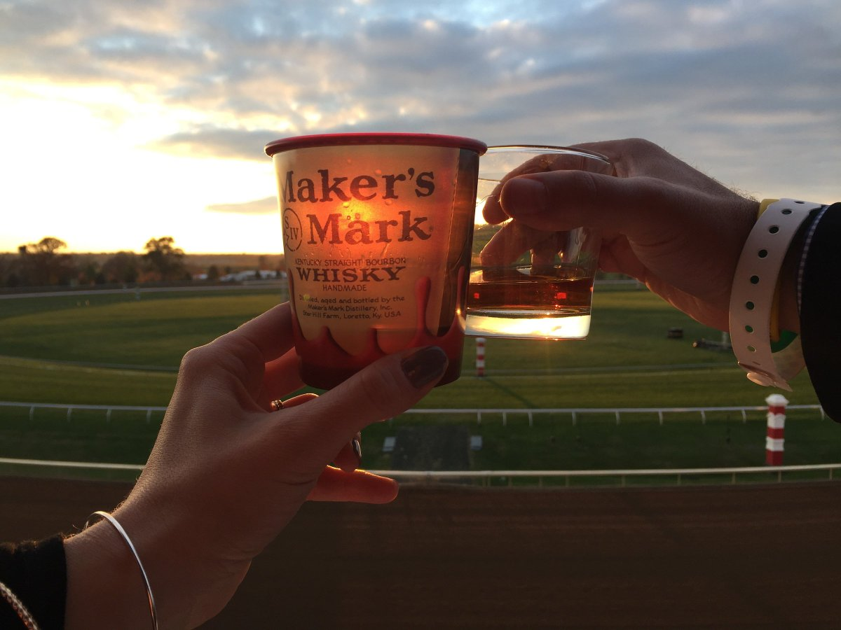 Cheers to #NationalBourbonDay! We're celebrating the best way we know how, with @MakersMark! 🥃   📸 @EclipseSports