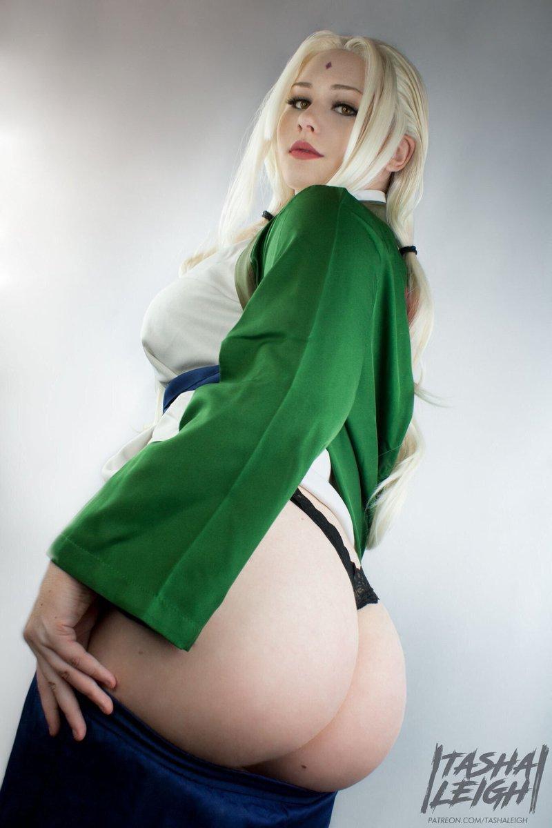 Tsunade cosplay hot nua — pic 13