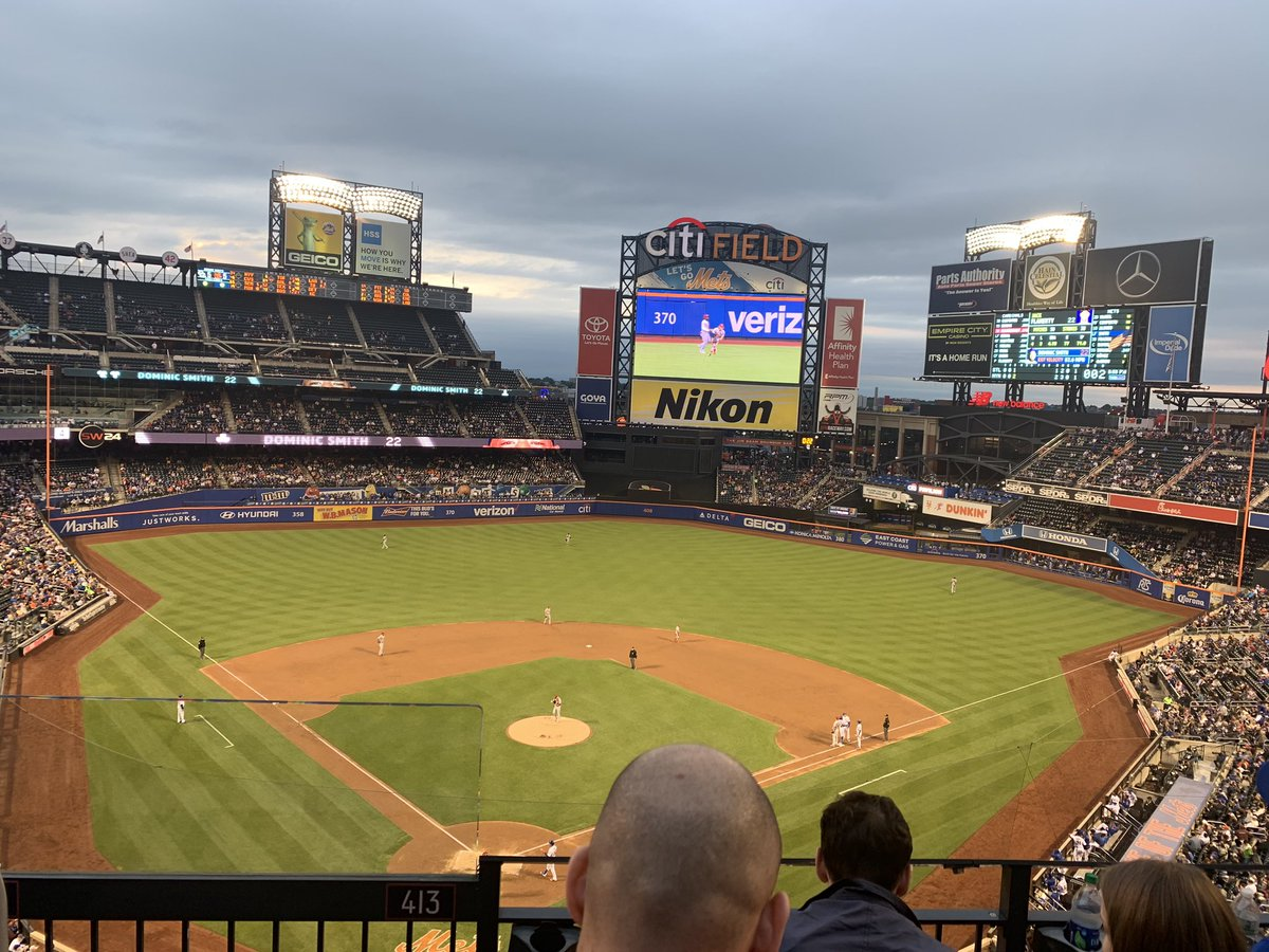 Can't believe I got to see Yankees VS Mets in the Bronx and Mets VS Cardinals in Queens for a combined total of $32. Amazing! https://t.co/Haae57Ugz2