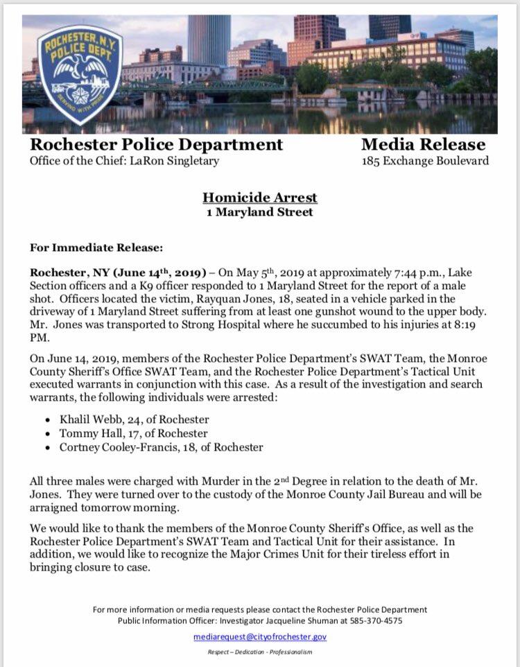 Potter County Warrants 2019