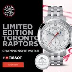 Image for the Tweet beginning: The @Raptors Championship Watch for