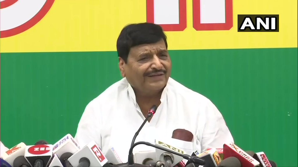 Shivpal Yadav, Pragatisheel Samajwadi Party(Lohia): We've decided to contest 2022 elections. We've to strengthen the party so that in 2022 Pragatisheel Samajwadi Party  (Lohia)forms a govt on its own. Rumours are that there'll be merger, this should put an end to all that.(14.06)
