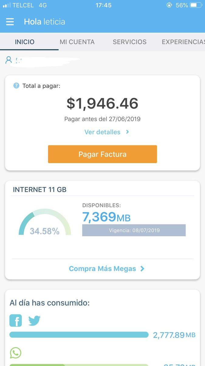 Que pésimo servicio de datos móviles de #Telcel no puedo abrir ningún video, abrir una aplicación y a mi no me van a descontar ni un minuto del recibo mensual, una semana nefasta 😡😡😡😡