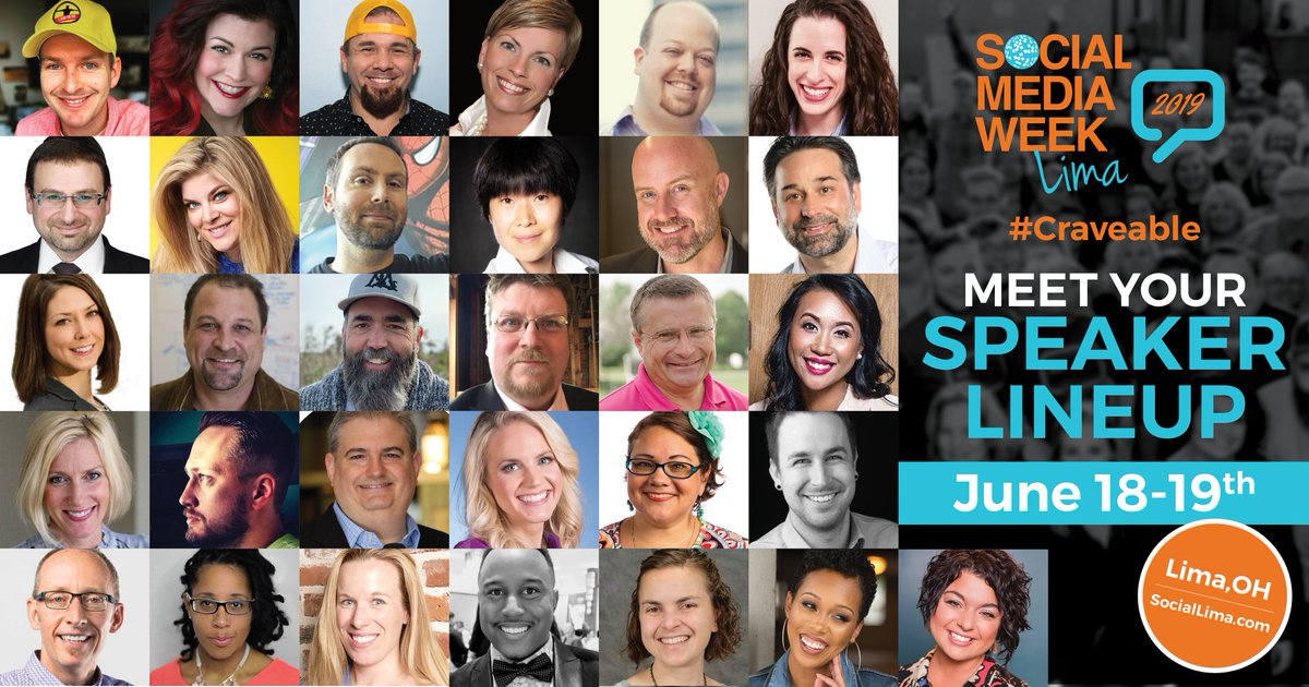 Grateful for all of you and have a wonderful weekend! Get ready for lots more social at #SMWL19 next week! ❤️
