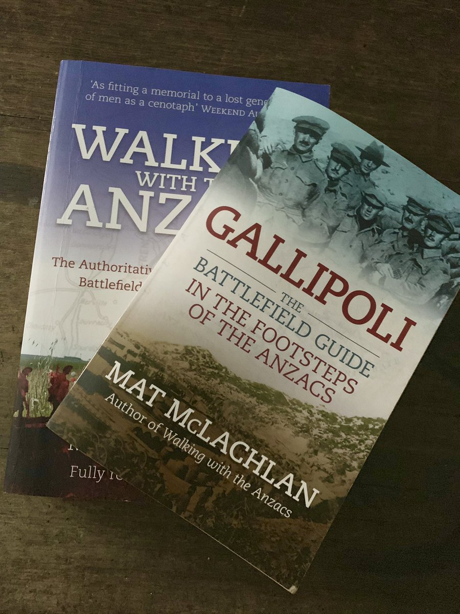 GIVEAWAY TIME! One lucky follower will receive a personally autographed copy of my books 'Walking with the Anzacs' and 'Gallipoli: The Battlefield Guide'. Like, retweet and follow me on Twitter to go into the draw. Good luck! #giveaway #anzacs<br>http://pic.twitter.com/j4OYJOrkuF
