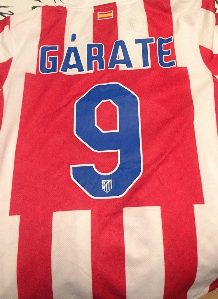 Qué orgullo ser del #Atleti por jugadores como #Garate. Gracias @PacoGrandeTVE y @teledeporte por este precioso #vintageGárate