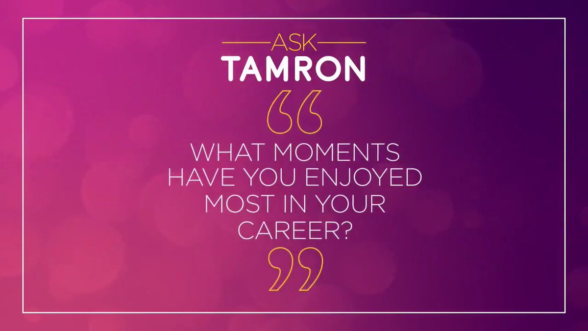 Submit your questions for @tamronhall at TamronHallShow.com!