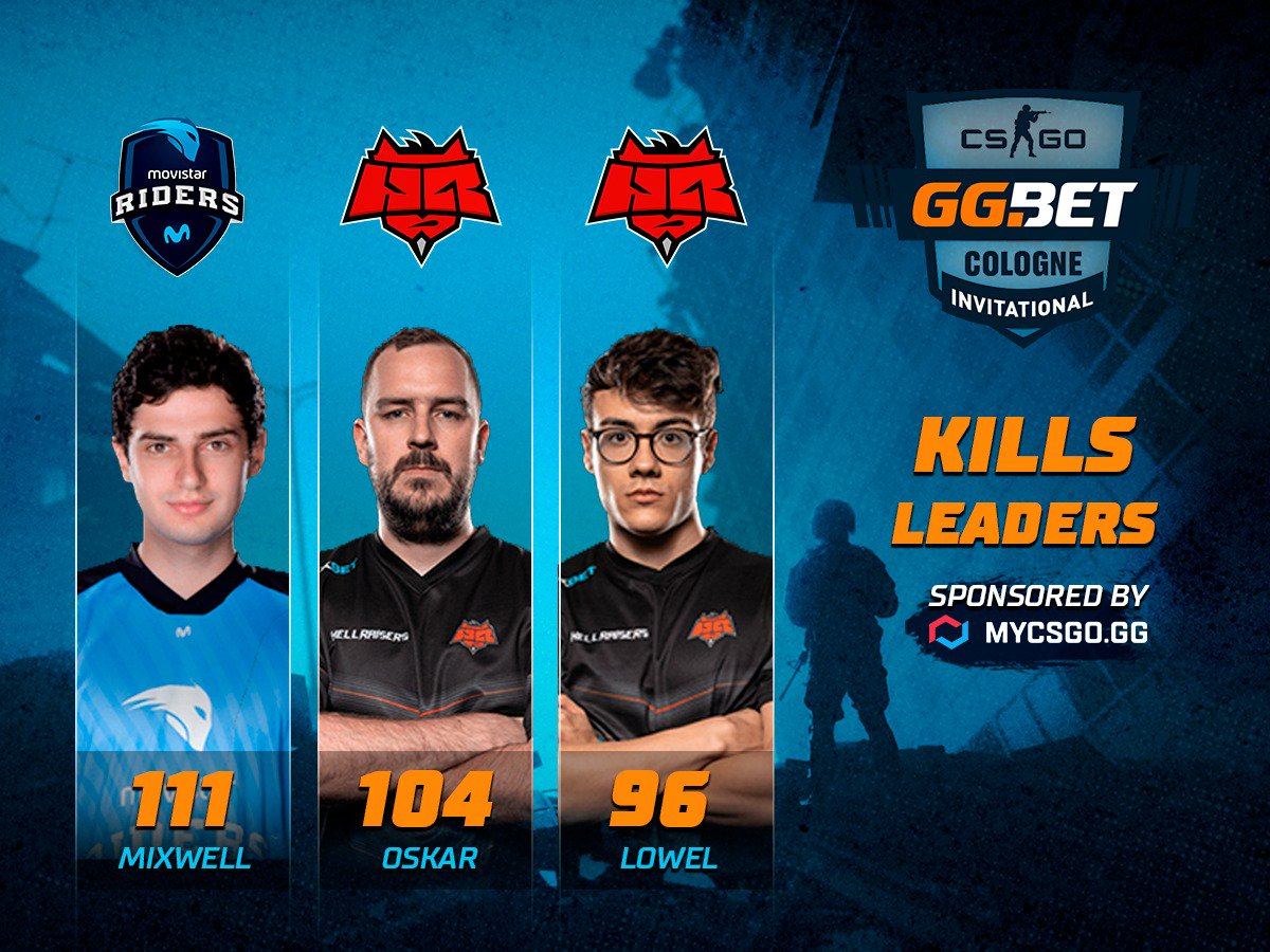 There were a lot of rounds today, so players had many chances to make a lot of kills. Players of @HELLRAISERSgg appeared to be extremely effective!   #maincast #CSGO