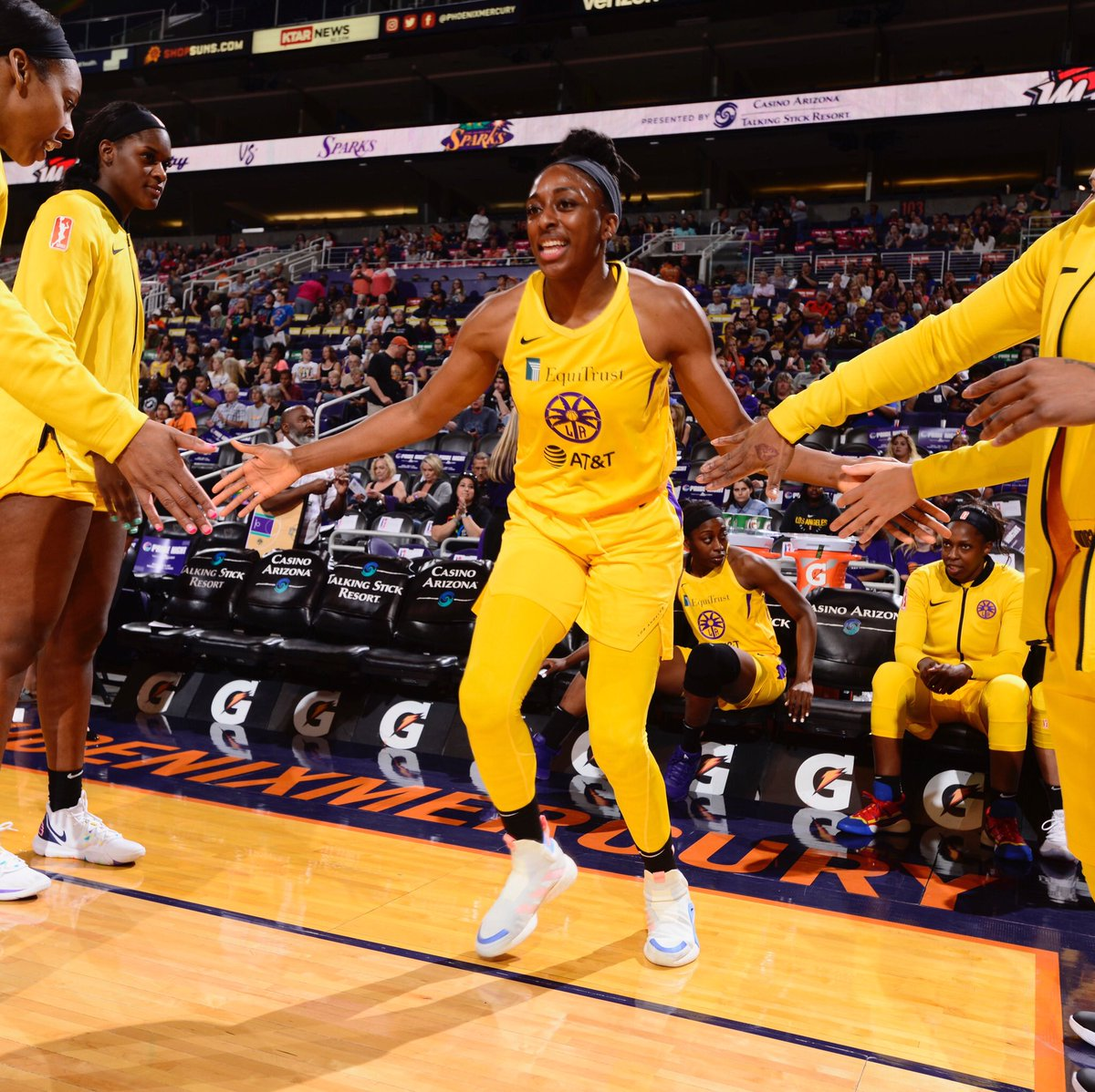 Secured the W tonight💯  #GoSparks #LeadTheCharge