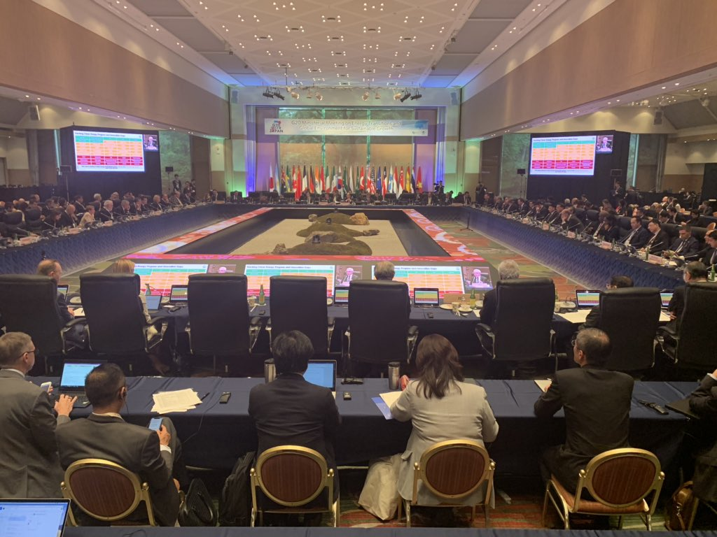 Excellent debate with #G20 Energy and Environment Ministers in Karuizawa 🇯🇵 @IEA will continue to focus on all fuels and all technologies to support the #G20 My presentation is online here http://bit.ly/2KQGzso