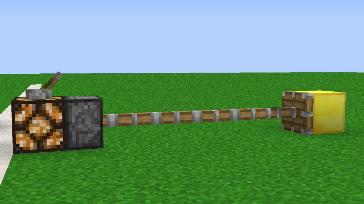 Minecraft | Cursed Images 15 (Long Piston)  https://t.co/DGkJ0Kfiok https://t.co/3ScQaioUF5