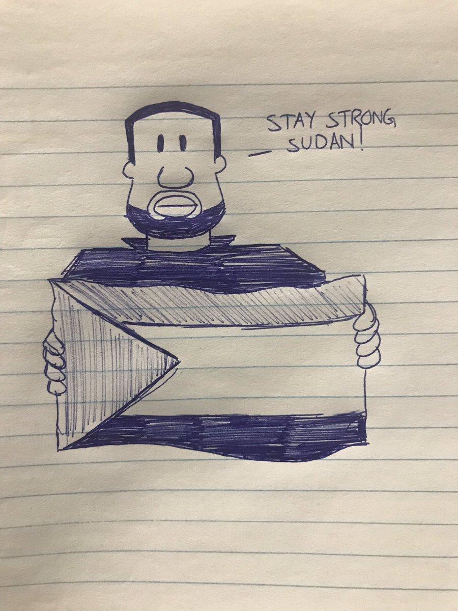 Stay Strong Sudan 🇸🇩  ... #sudan #istandwithsudan #sudanuprising #sudanmassacre #compositionbookchronicles #conquesopublishing #cqcomics #comics #webcomic #sketchbook #sketch