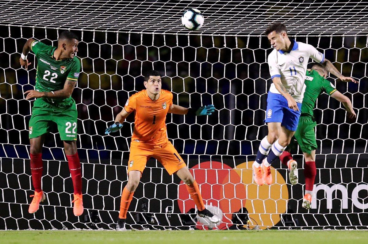 Копа Америка. Бразилия обыграла Боливию благодаря дублю Коутиньо - изображение 3